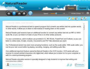 FreeNaturalReader